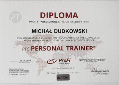 ProFi Personal Trainer Michał Dudkowski