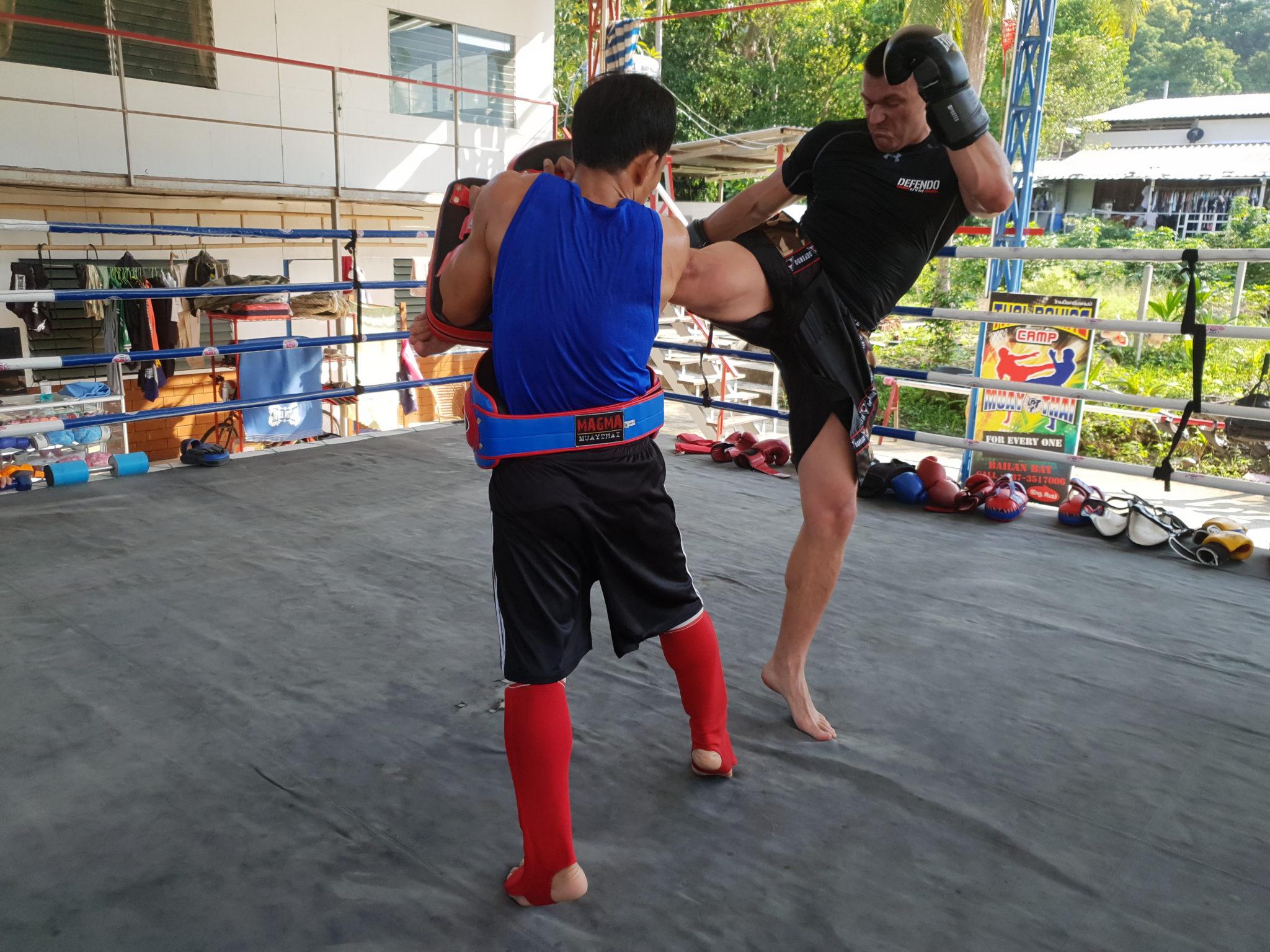 Trening w Tajlandii na wyspie Koh Chang