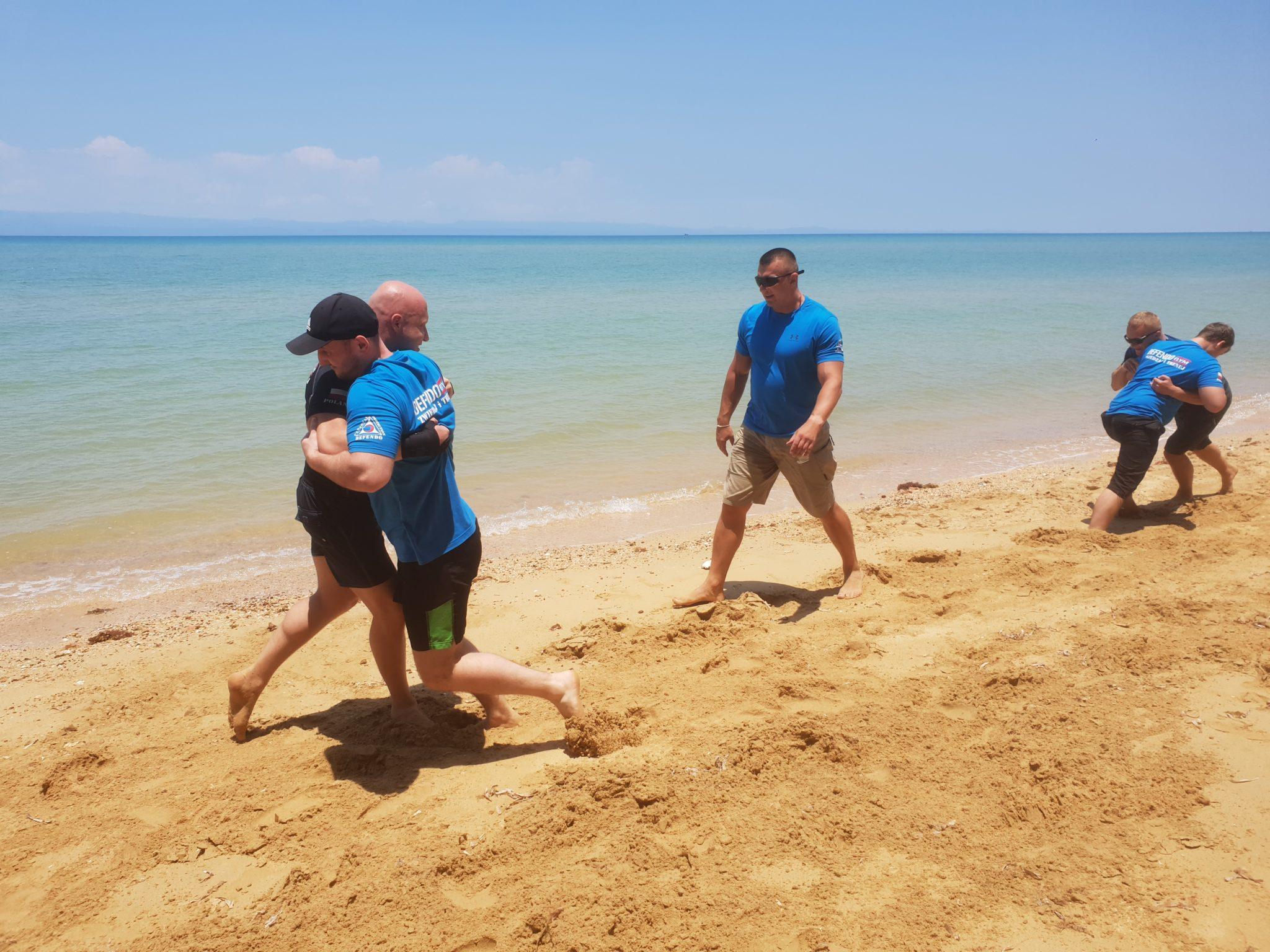Trening Defendo w Tajlandii na wyspie Koh Kradat