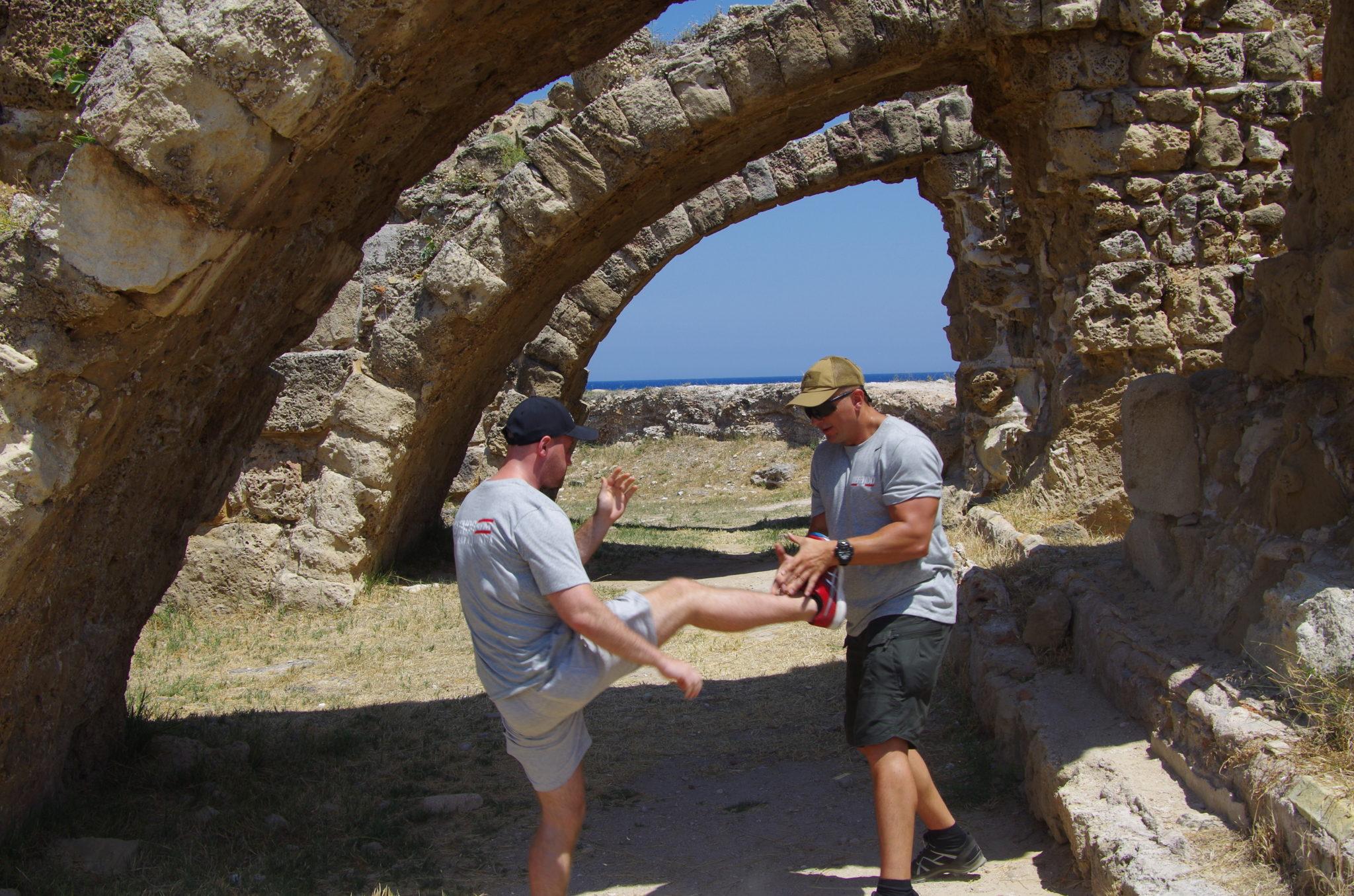 Trening Defendo na Cyprze